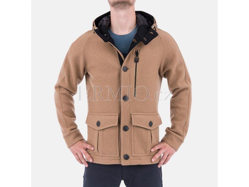 Pánský kabát Armani hnědy