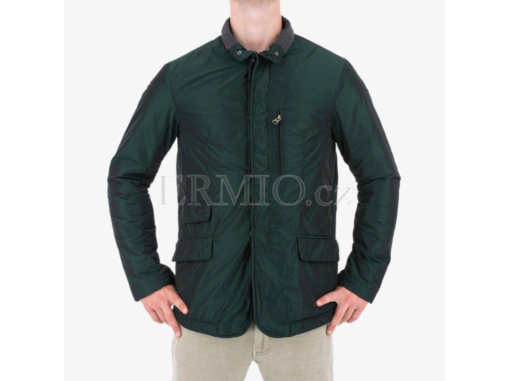 Pánská zimní bunda Armani zelená