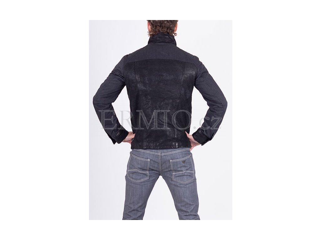 7d6c59d35d9 Luxusní Luxusní kožená bunda Armani v e-shopu   Ermio Fashion