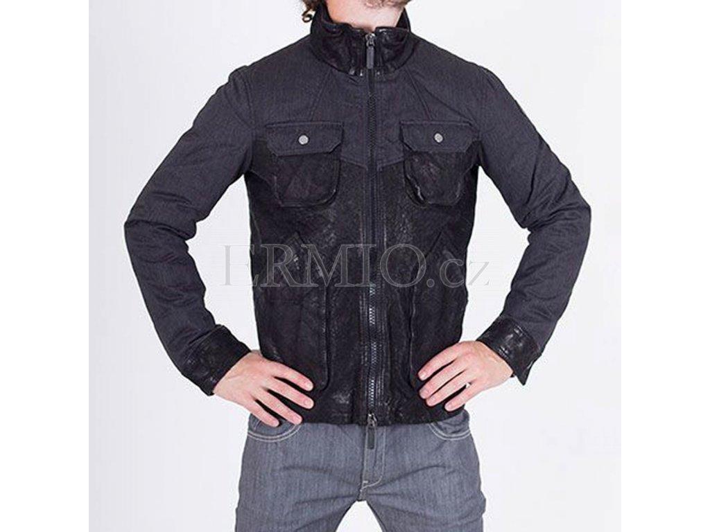 Luxusní kožená bunda Armani