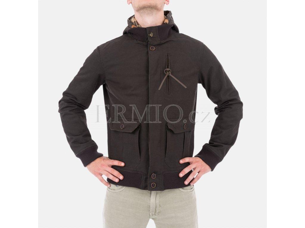 Pánská značková bunda Armani s kapucí