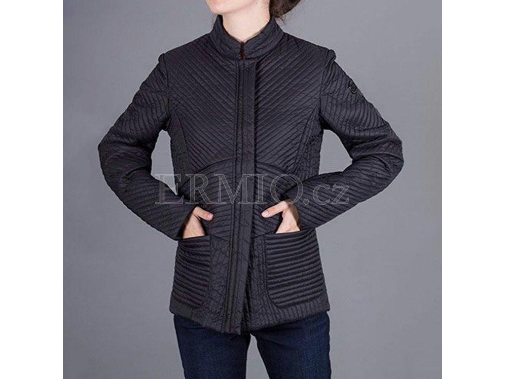 Černá dámská bunda Armani