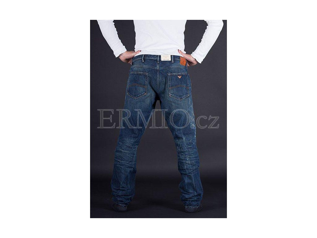 66ba55d8d74 Luxusní pánské modré rifle Armani Jeans · Luxusní pánské modré rifle Armani  Jeans ...