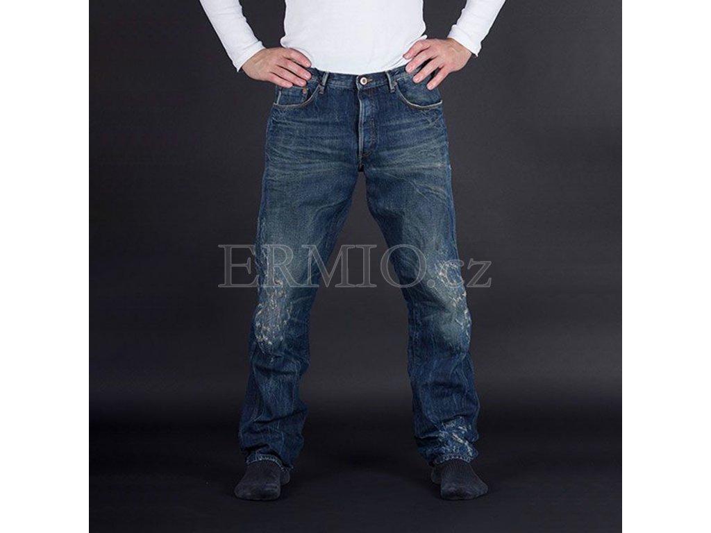 Luxusní pánské modré rifle Armani Jeans