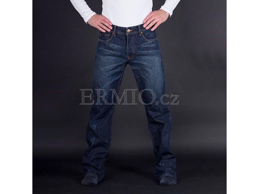 Značkové pánské modré rifle Armani Jeans