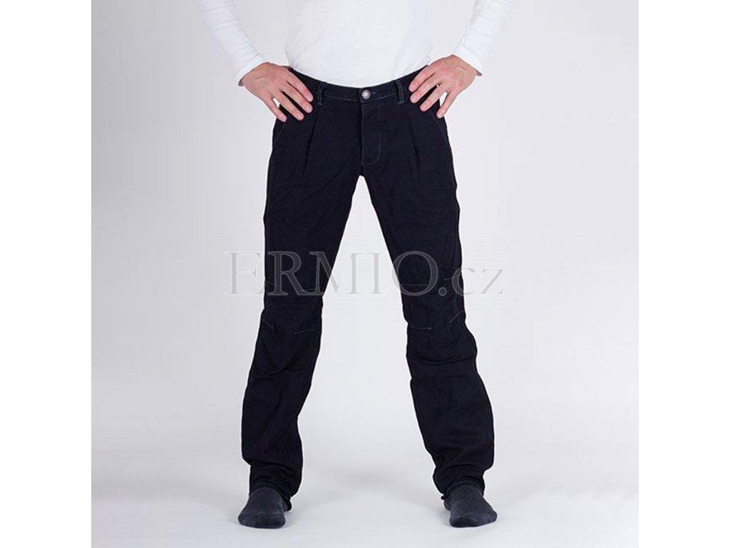 Pánské tmavě modré značkové kalhoty Armani