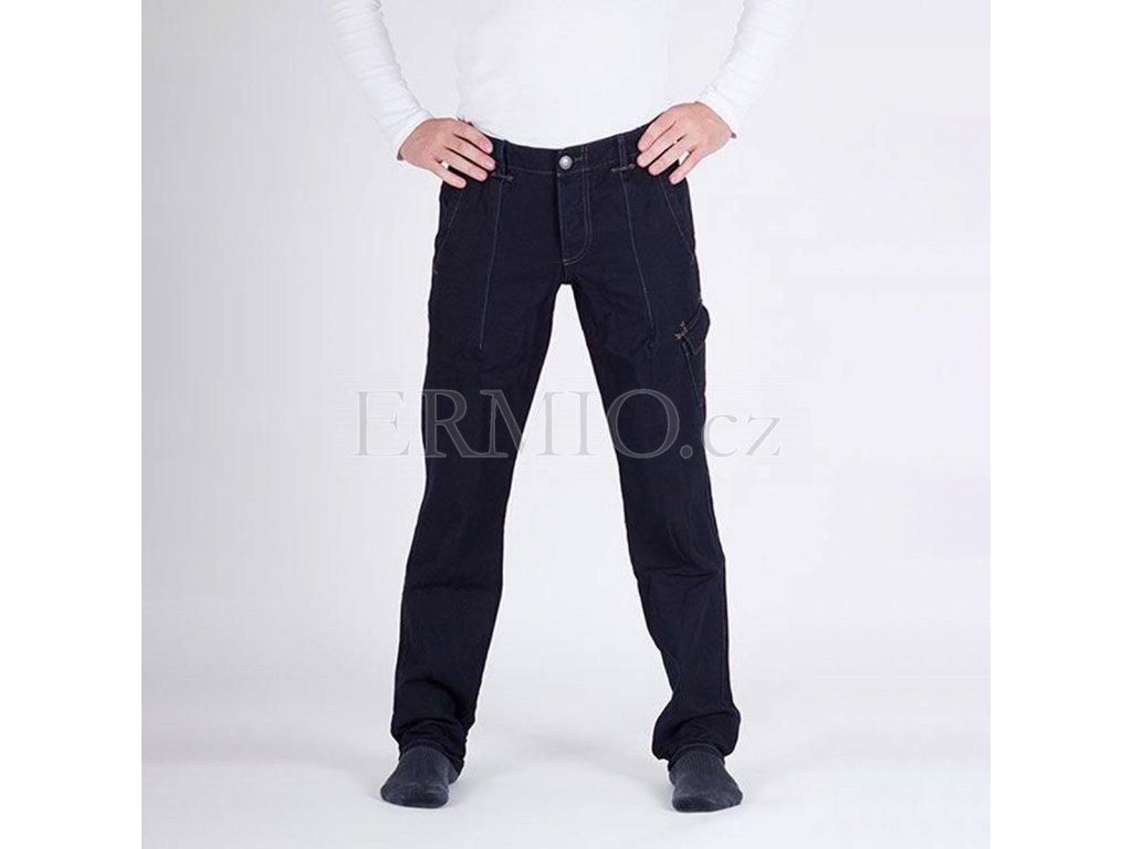 Nádherné pánské modré džinové kalhoty