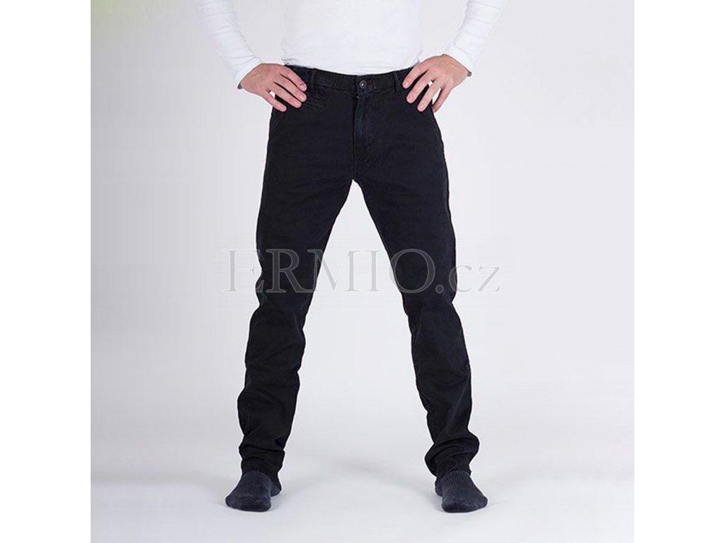 Značkové pánské černé kalhoty Armani Jeans