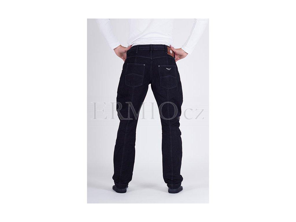 Značkové pánské modré džinové kalhoty Armani Jeans