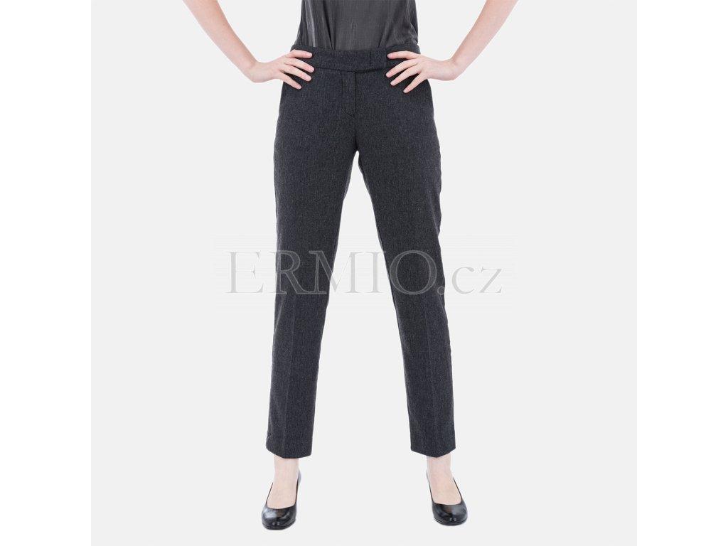 Dámské značkové šedé kalhoty Armani