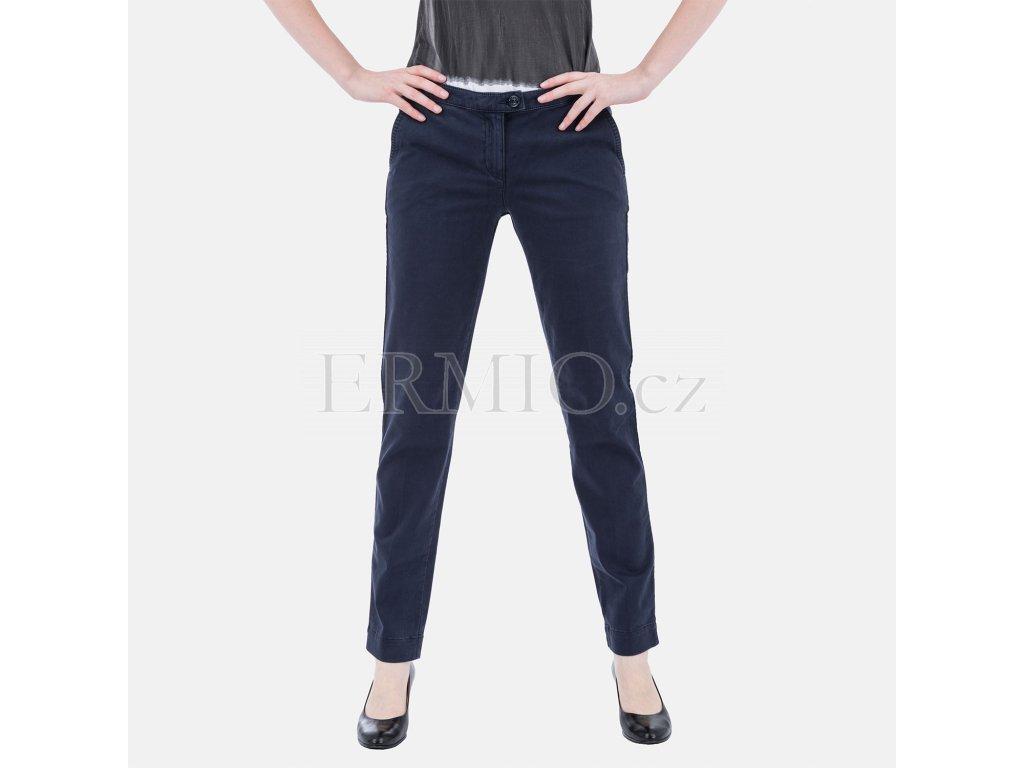 Dámské tmavě modré kalhoty Armani
