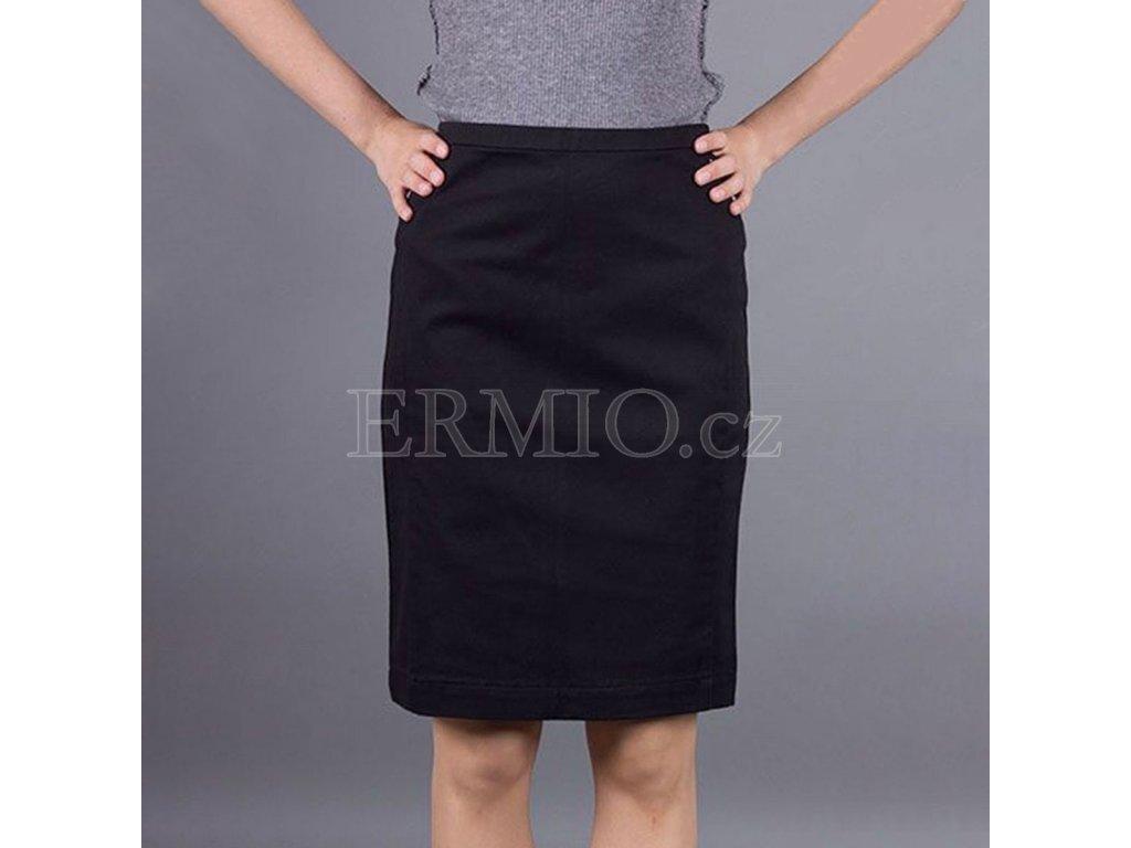 Luxusní Značková černá sukně Armani Jeans v e-shopu   Ermio Fashion f48d73313d