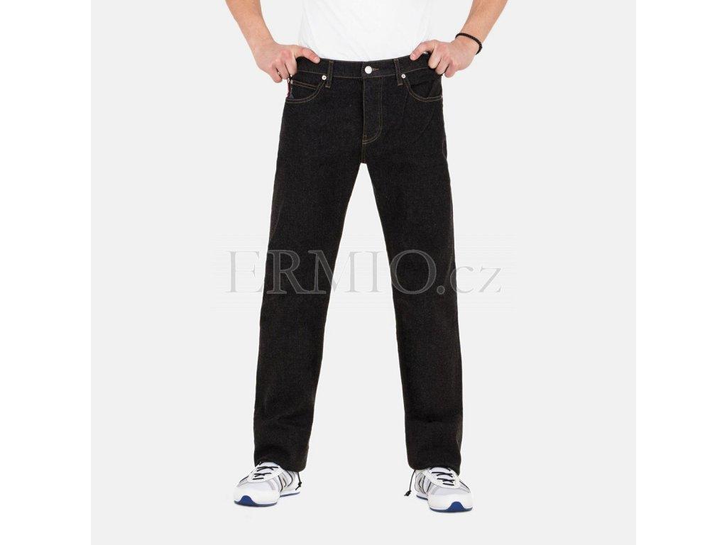 Černé rifle Armani Jeans