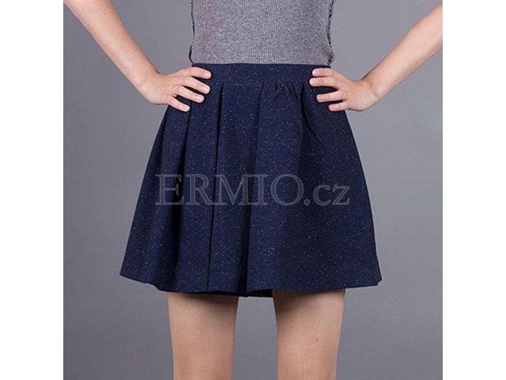 Tmavě modrá sukně Armani Jeans