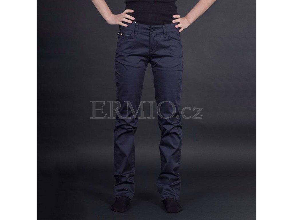 Casuální dámské jeansy Armani modré