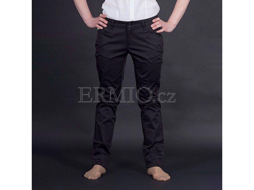 Casuální dámské jeansy Armani černé