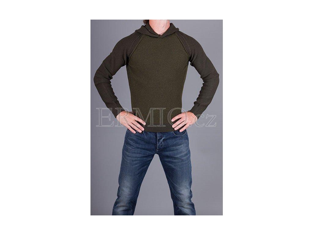 Zelený pánský svetr Armani