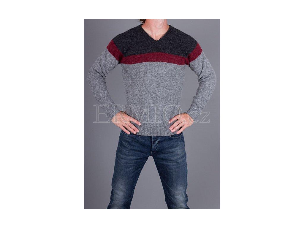Pánský barevný svetr Armani Jeans