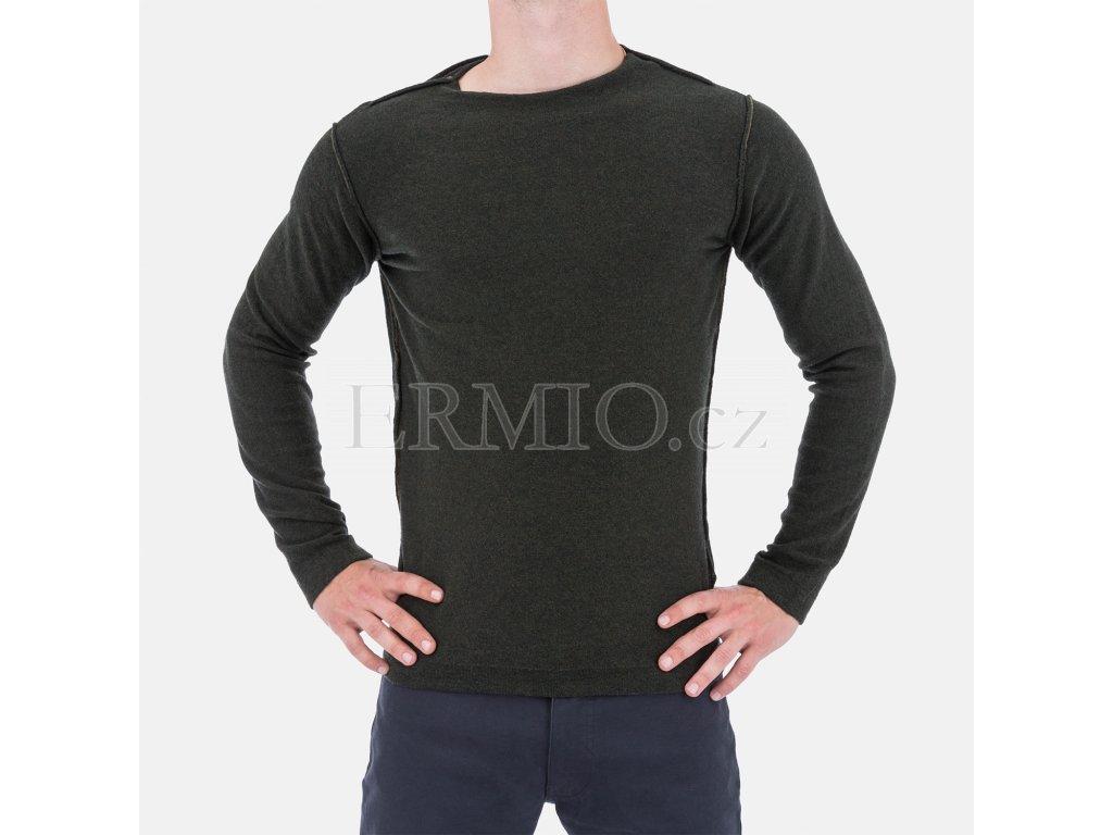 Pánský zelený svetr Armani