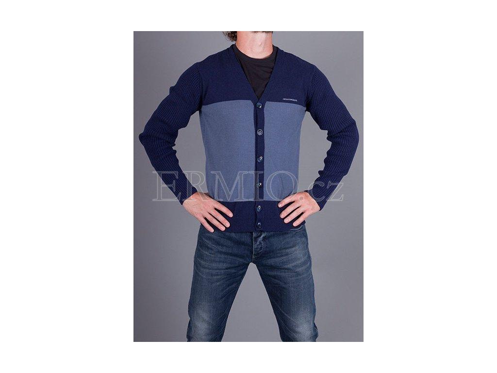 Pánský dvoubarevný svetr Armani Jeans