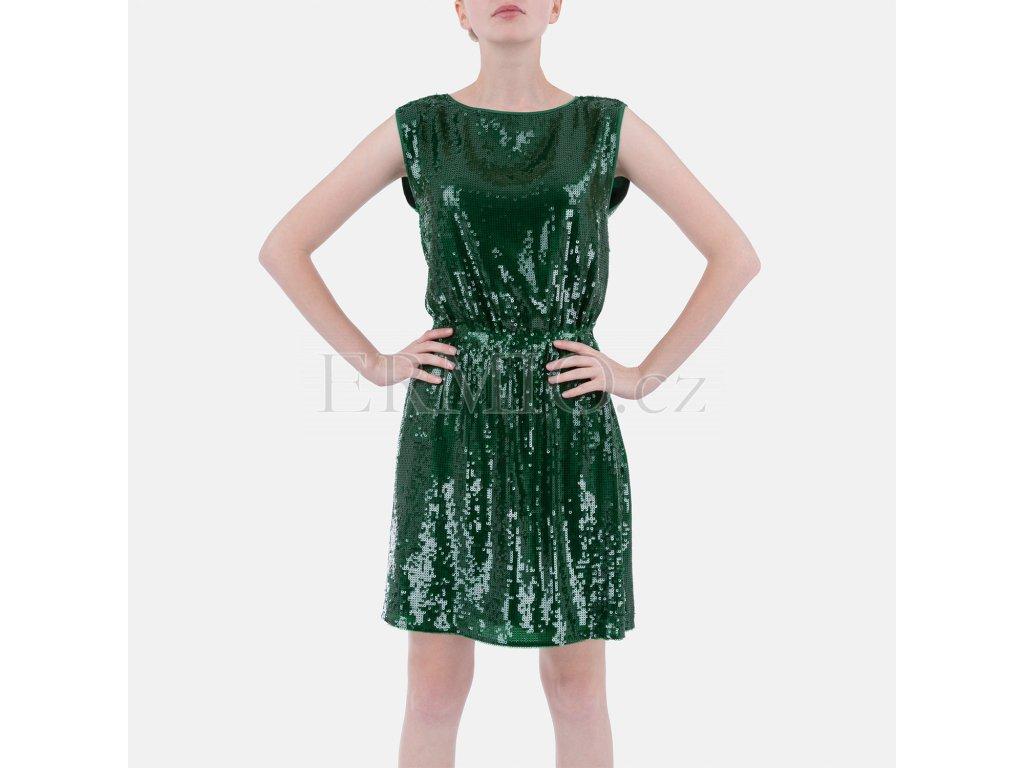 Luxusní zelené šaty Armani