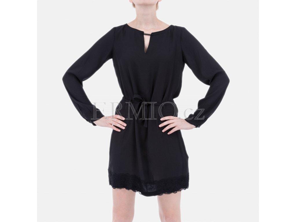 Luxusní Značkové černé šaty Armani v e-shopu   Ermio Fashion 9955bcc037