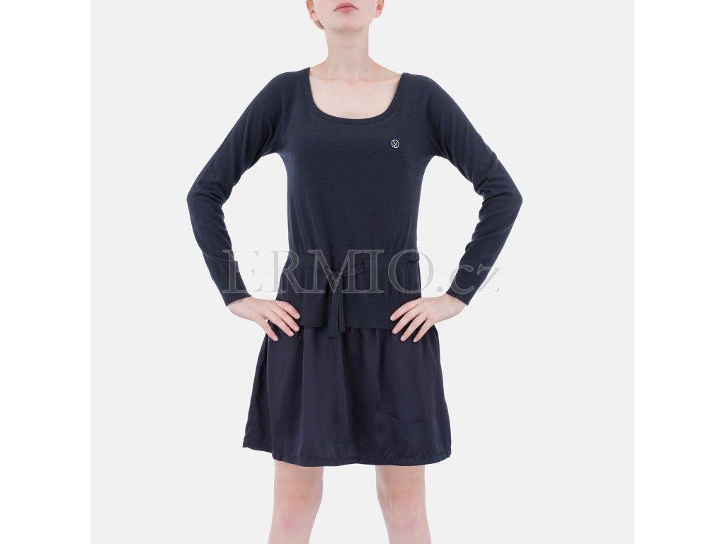 Tmavě modré šaty Armani