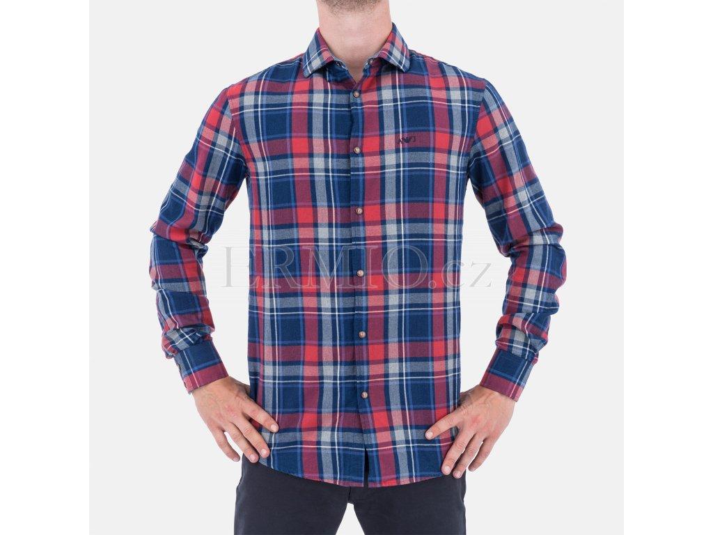Pánská kostkovaná košile Armani Jeans