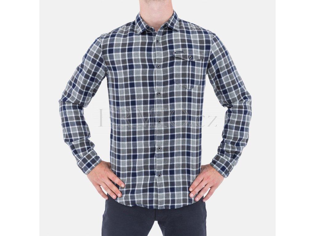Kostkovaná pánská košile Armani