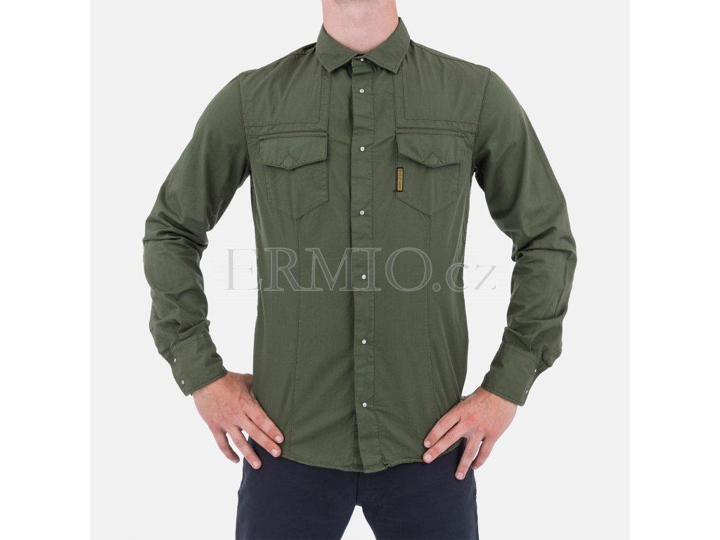 Pánská zelená košile Armani
