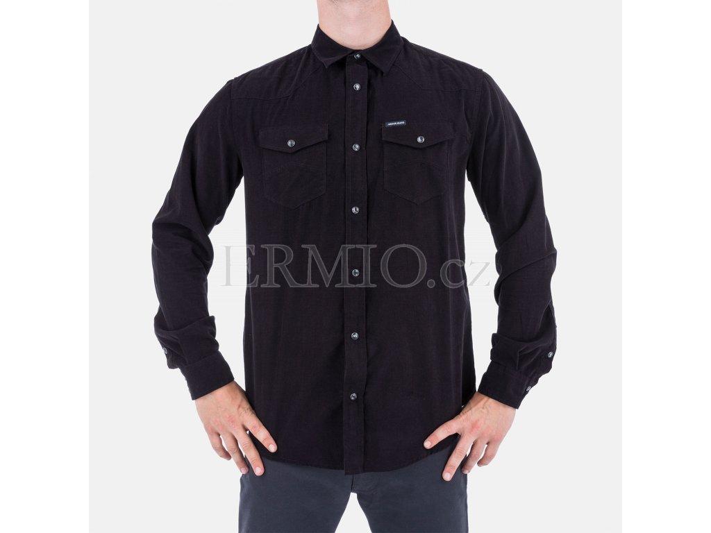 Manchesterová pánská košile Armani