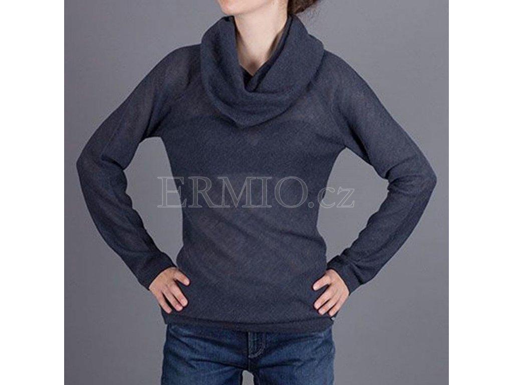 Luxusní dámský šedý svetr Armani