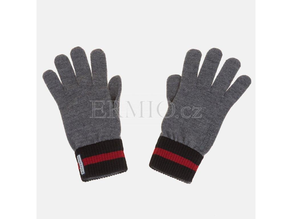 Panské pletené rukavice AJ