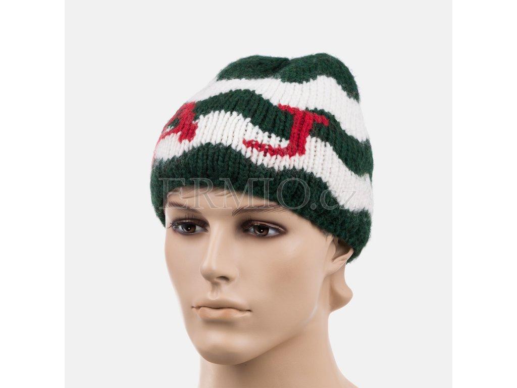 Stylová pánská zimní čepice Armani barevná