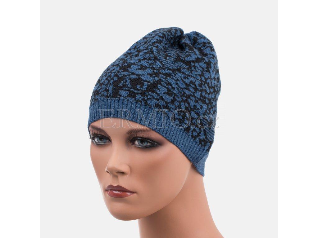 Zimní dámská čepice Armani barevná