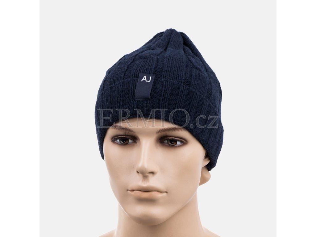 Luxusní Pánská zimní čepice Armani v e-shopu   Ermio Fashion a55cb487af