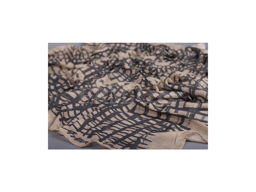Kostkovaný šátek Armani