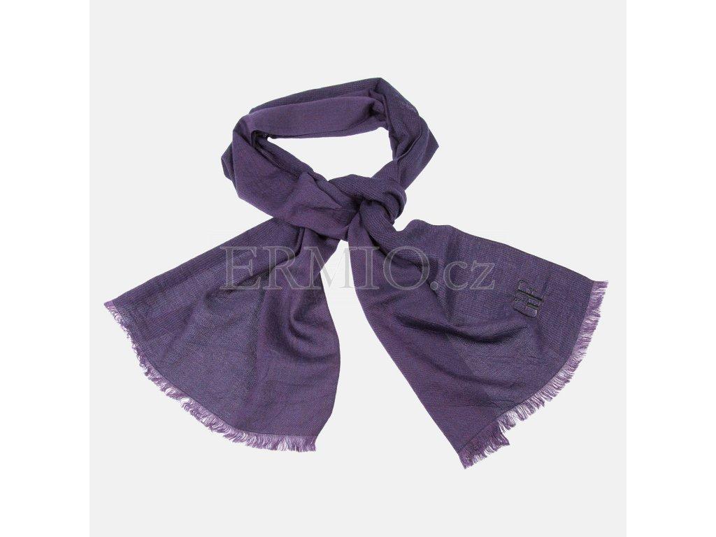 Elegantní fialová šála GF Ferré