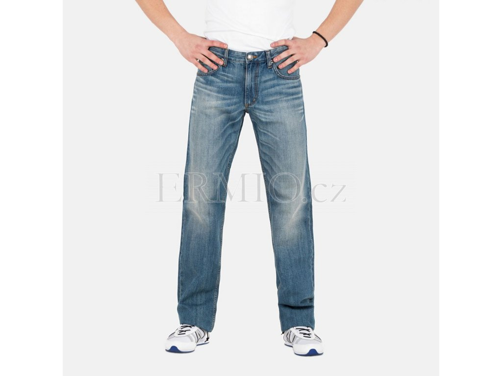 Pánské džíny Versace světle modré