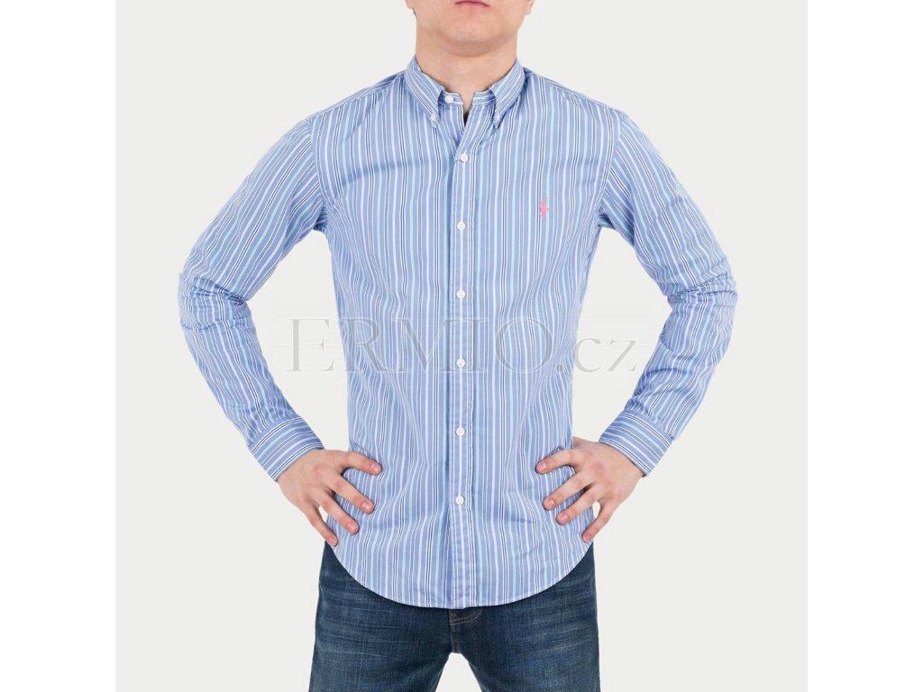 Modrá pánská košile Ralph Lauren