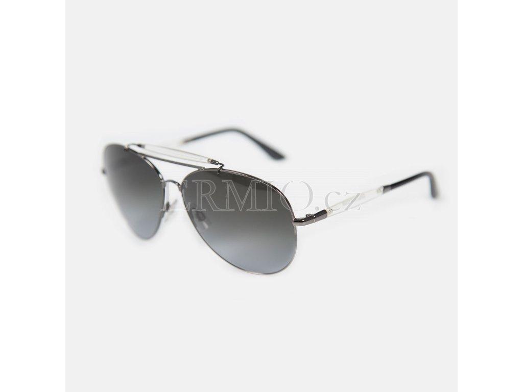 Krásné sluneční brýle John Galliano průhledný obrub