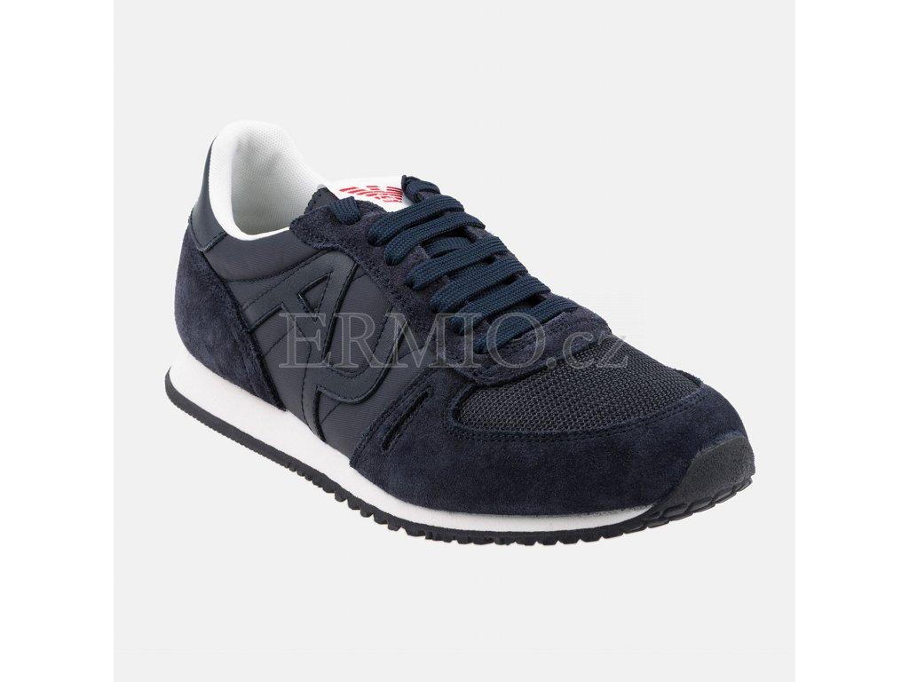 Tenisky Armani Jeans tmavé modré