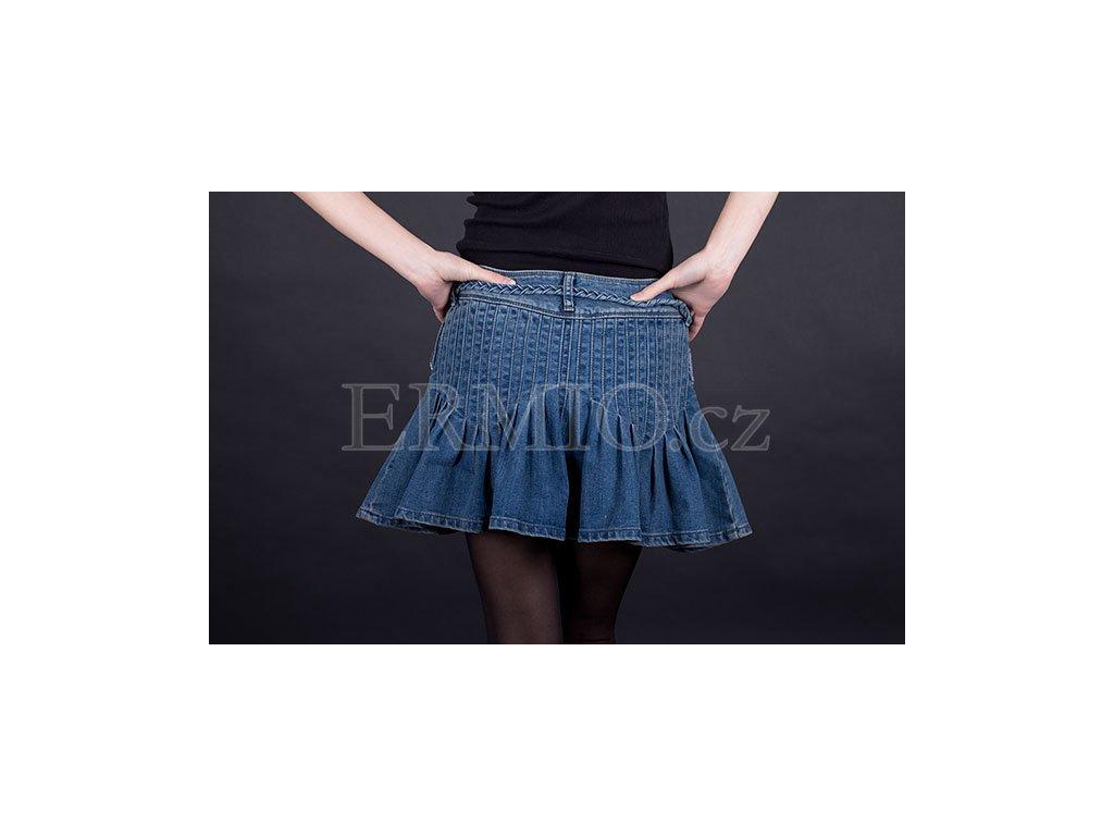 Luxusní Džínová sukně Armani modrá v e-shopu   Ermio Fashion 0e9666bde0