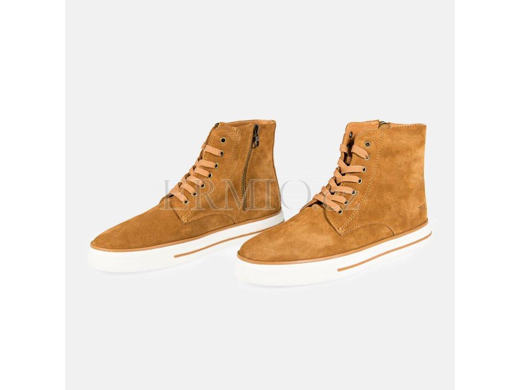Elegantní pánská semišová obuv Armani Jeans