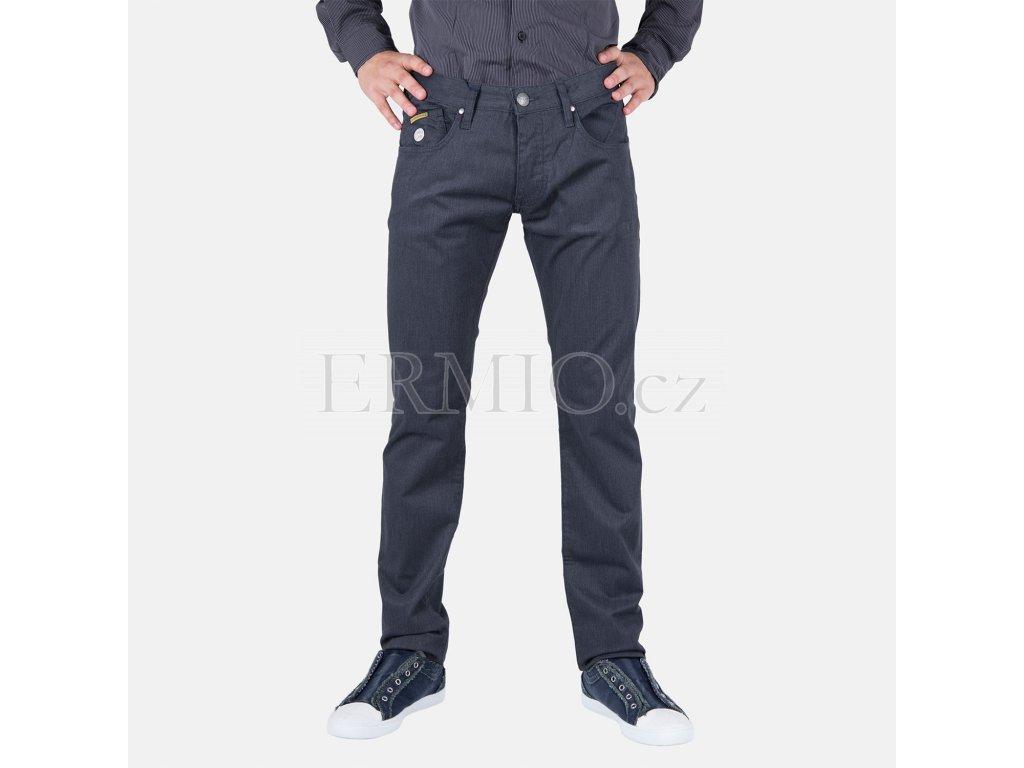 Pánské džiny Armani tmavě šedé