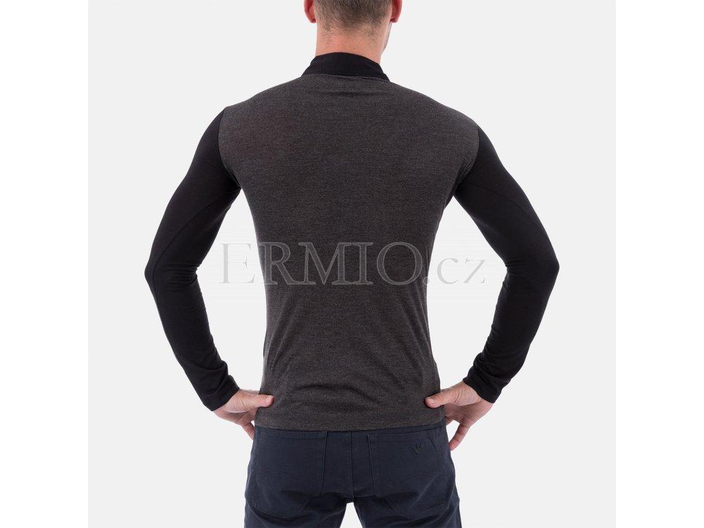 a8253ee6cd8 Luxusní pánské šedé tričko Armani Jeans · Luxusní pánské šedé tričko Armani  Jeans ...