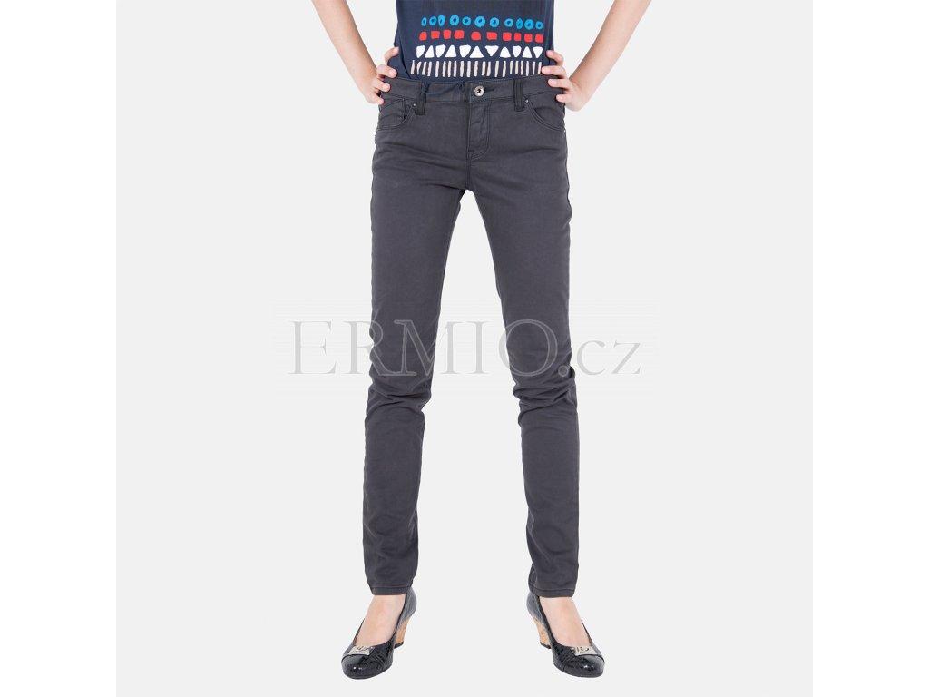 Stylové dámské šedé rifle Armani Jeans