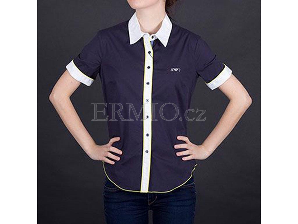 Elegantní dámská košile Armani Jeans modrá