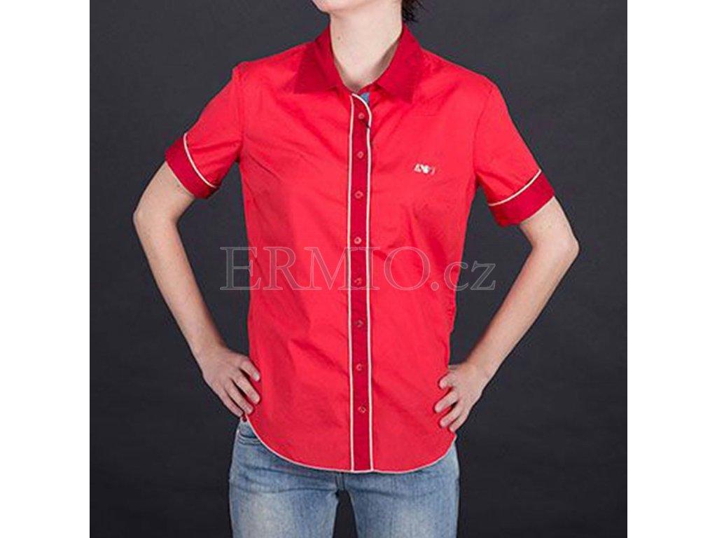Elegantní dámská košile Armani červená