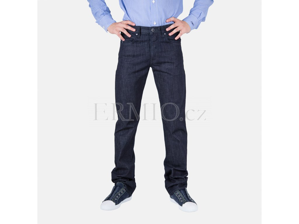 Stylové pánské džiny modré